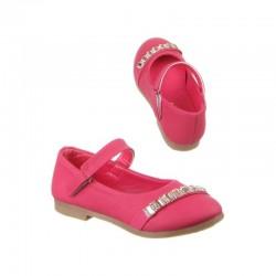 Pantofi fetite roz aprins