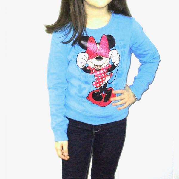 Bluza fete Disney Minnie Mouse bleu