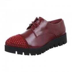 Pantofi Comer Collection grena