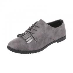 Pantofi Coura culoare gri