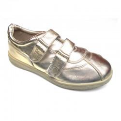 Pantofi sport dama P167 auriu deschis