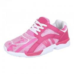 Pantofi sport pink white