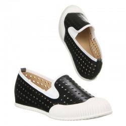 Pantofi sport dama negru cu alb Licean