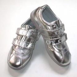Pantofi sport dama P167A argintii