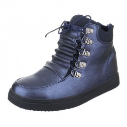 Ghete Weide Shoes Blue