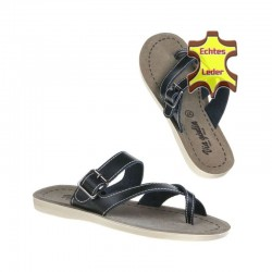 Papuci piele naturala Via Giulia